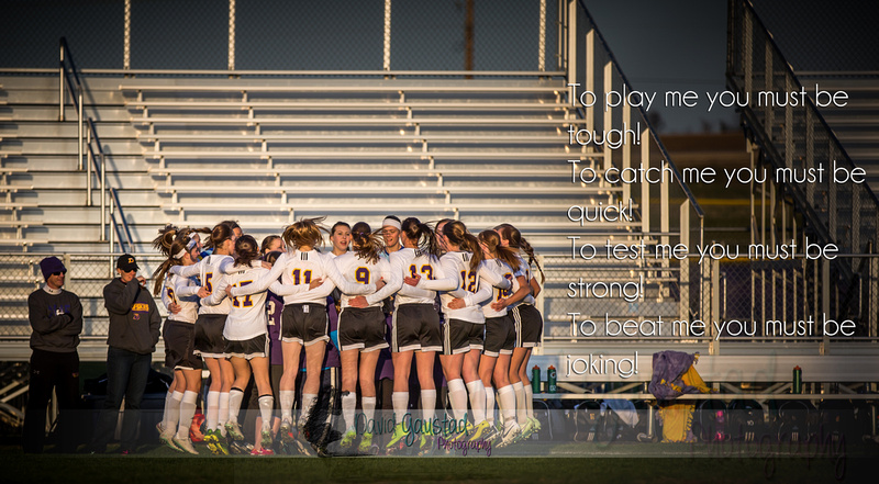 DeForest Girls Soccer Beat Me Quote
