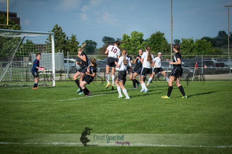 DeForest Girls JV Soccer vs Lodi on May 24th 2016