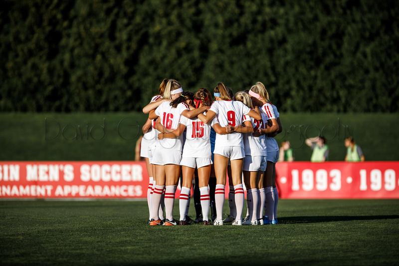 Wisconsin Badgers Women's Soccer team 0M7A2124