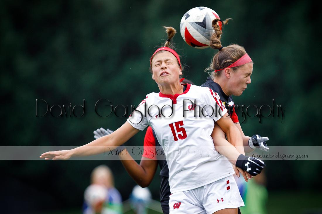 Dani Rhodes Wisconsin Women's Soccer Team vs. Maryland