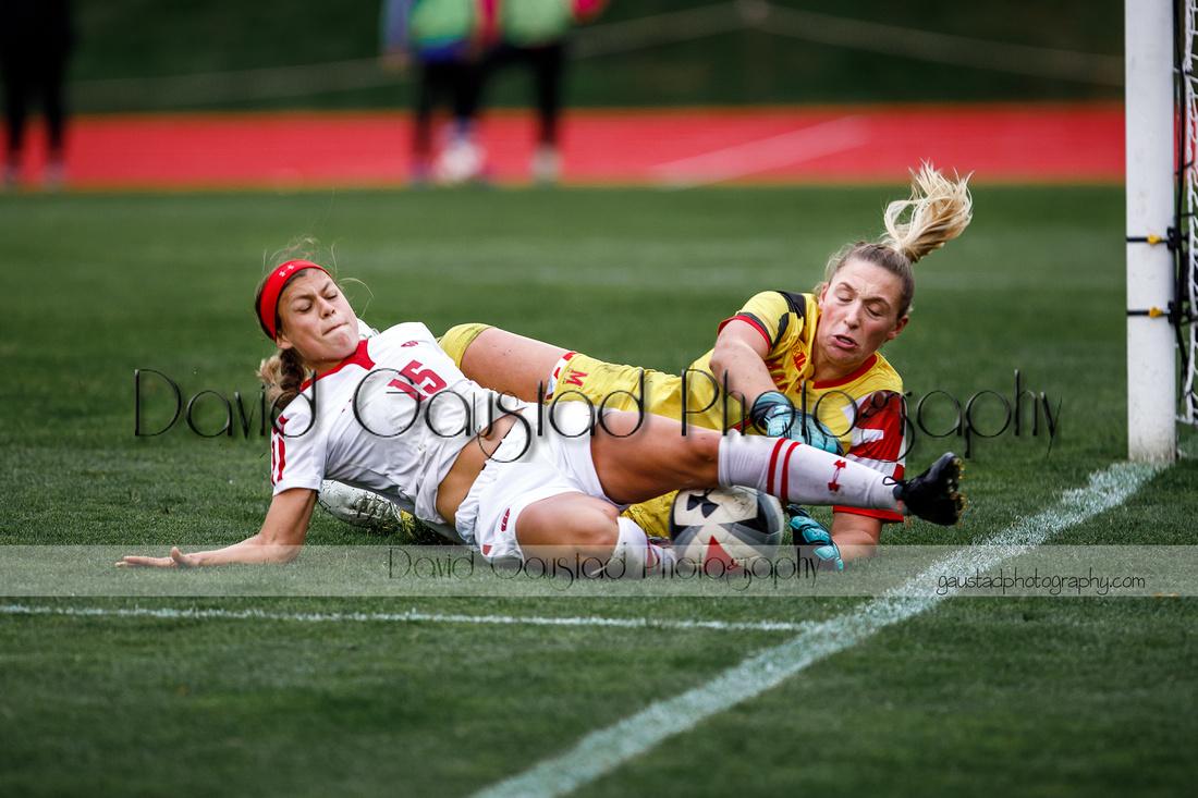 Wisconsin Women's Soccer Team vs. Maryland