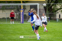 Pictures of girls DeForest JV soccer at DMB Community Bank Stadium DeForest