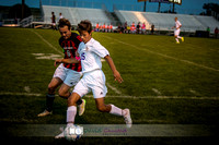Pictures from the DeForest Norski Varsity boy's soccer Fall 2015 game vs Mt Horeb at DMB Community Bank Stadium Wes McNeese