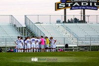 DeForest Norski Varsity boy's soccer Fall 2015 game vs Mt Horeb at DMB Community Bank Stadium