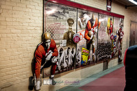 Pictures at the American Family Insurance gate dedication and tour of Camp Randall