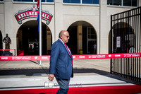 Pictures at the American Family Insurance gate dedication and tour of Camp Randall with Barry Alvarez