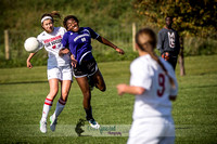 Great soccer pictures of UW-Madison Women's Club Soccer vs Northwestern Club Soccer