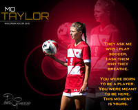 Mo Taylor Wisconsin Women's Soccer 2016