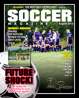 Magazine Cover Soccer Example