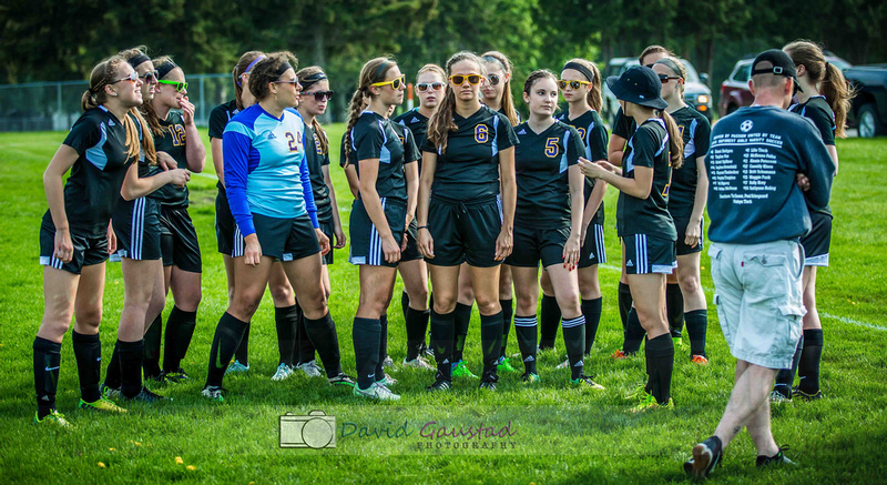 DeForest Girls Soccer team Spring 2015 season