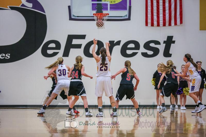 DeForest girls basketball