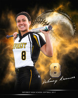 DeForest Softball delaneyK8x10