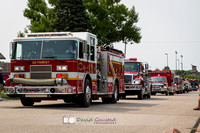 Pictures from the DeForest WI July 4th Parade 2015